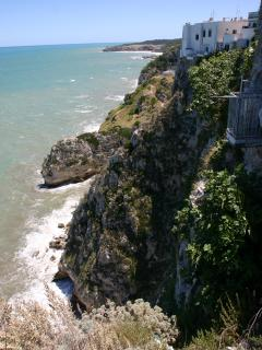 Centro Storico, safely positioned 80 m above sea level.