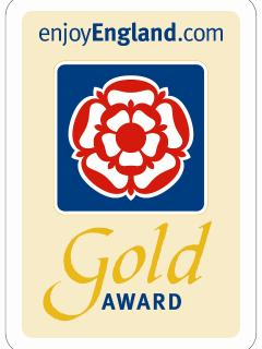 Candlelight Cottage is a holder of the prestigious English Tourist Board Gold Award for excellence.