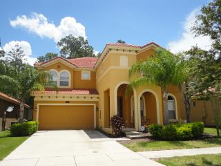 BellaCasa our 6 bed, 5-1/2 bath luxury villa with pool, spa, games room & wifi, Kissimmee