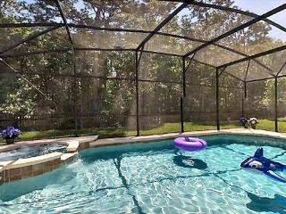 Fully screened lanai, 30ft heated pool and hot tub / spa