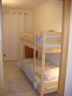 Bedroom 2 - two full sized bunk beds