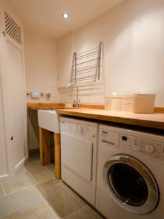 laundry with quality appliances