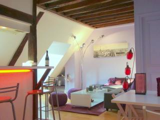 charming roof-top apartment, Asnieres-sur-Seine