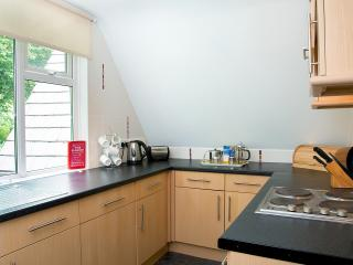 Fully equipped kitchen - cooker, fridge, freezer, dishwasher, microwave