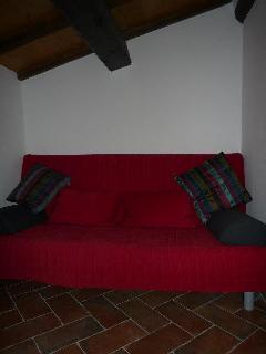Sofanische Schlafzimmer Dachstock nord