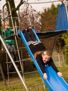 Swings, slide & a 'Pirate Boat' for the smaller guest's to enjoy.