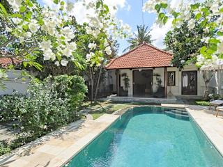 VILLA PAGI. 2 BDRM POOL GARDEN 250 MTRS FROM BEACH, Sanur