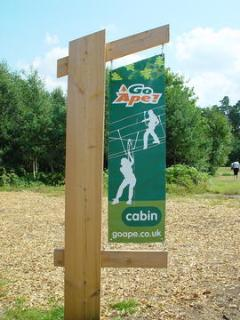 Go Ape - Zip Sliding in nearby Alice Holt Forest