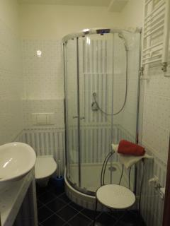 Newly built shower bathroom
