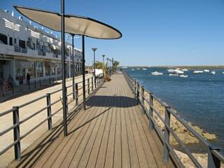 Local Cabanas boardwalk