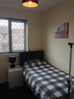 Bedroom 3 - This room has a single bed