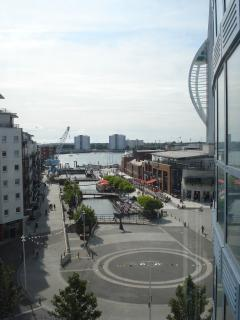 Balcony View (Front) - Gunwharf by day