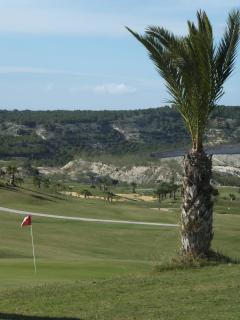 Play a round on the beautiful golf course