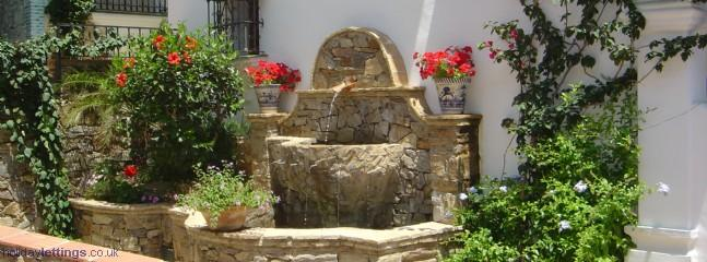 One of our many fountains