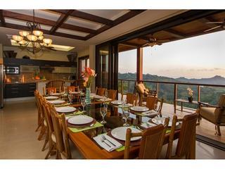 Large dining room with chef services per your request!