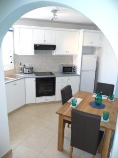 View of the kitchen from the lounge