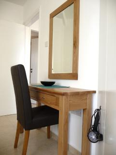 Dressing table in the master bedroom