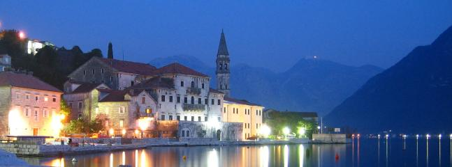 Idyllic town of Perast just a short drive