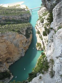 Gorge Verdon an hour's drive away