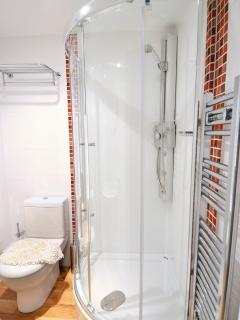 Family shower on the ground floor