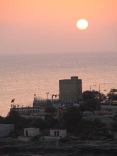 Sunrise in St. Julian's