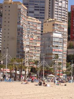 Carabelas buildings from Levante beach