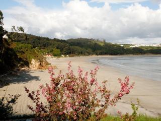 Playa de Arealonga, situada a pocos metros del apartamento.