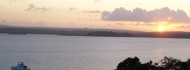 sunset over Kilifi Creek