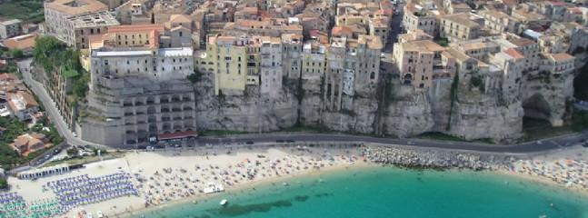 Panoramic view of Tropea