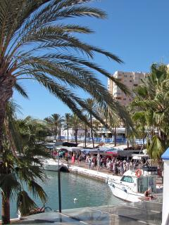 Sunday market in the Marina