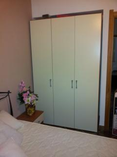 Recently installed fantastic storage in the bedrooms