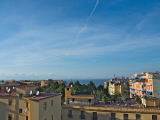 View on the Gulf of Naples from the terrace