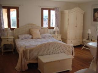 Your bedroom overlooking the vines