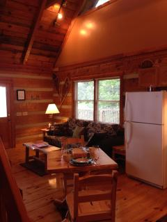 Log Dinette/Equipped Kitchen