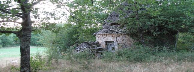Centuries old stonehouse in the direct environment
