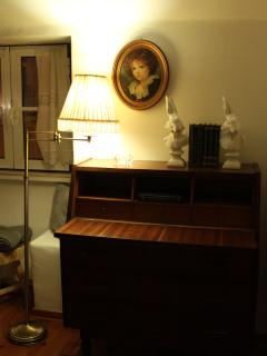 Detail, living room