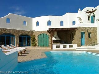 Blue Villas | Sunset | Traditional Villa with view, Mykonos Town