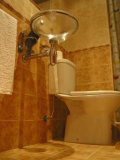 Detalle de uno de los baños de las habitaciones