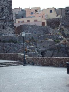 VIEW OF HISTORIC CITADEL OF CASTELSARDO