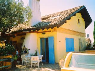 Camere in villa con vista MARE