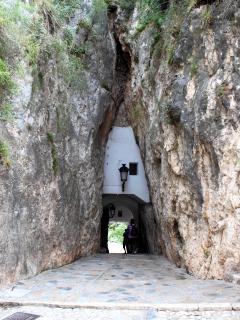 Puerta de acceso a Guadalest