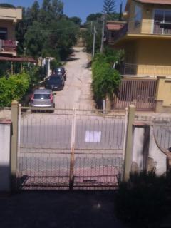 cancello ingresso veranda esterna