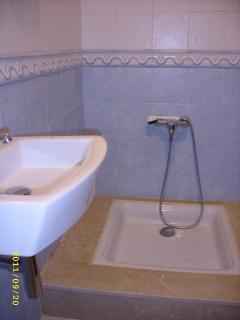 and another separate shower room, with basin and toilet