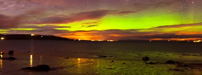 the northern lights from drummore in march 2013