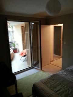 chambre 2 avec terrasse commune avec la chambre 3
