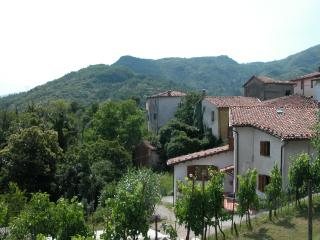 Tuscan holiday villa in Lucca with private garden and terrace, fantastic views