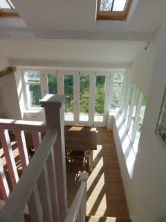 View from mezzanine snug