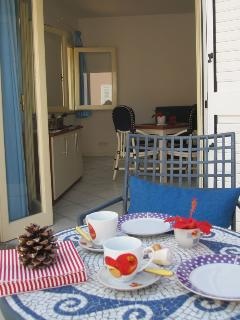 Is beautiful to have breakfast on the terrace