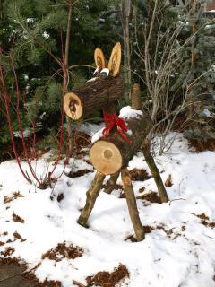 Christmas decorations, Ruffec December 2009