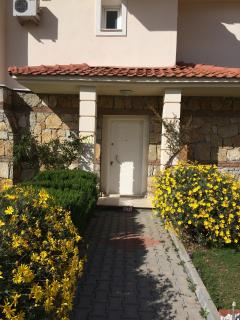 Villa Front door and entrance